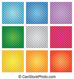 Triangle pattern set