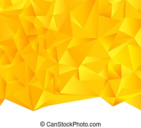 Triangle, Polygon, Abstract Backgrounds - Interposing...
