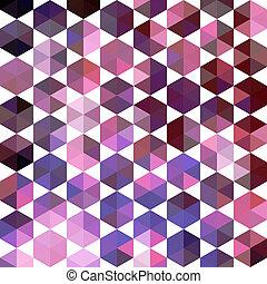 triangle, próbka, od, geometryczny, shapes., barwny, mozaika, backdrop., geometryczny, hipster, retro, tło, miejsce, twój, tekst, na, przedimek określony przed rzeczownikami, górny, od, it., retro, trójkąt, tło., zasłona