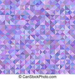 Triangle pyramid background - mosaic vector design from triangles in purple tones