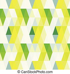 Triangle retro pattern seamless background