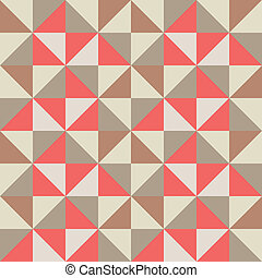 Triangle retro seamless background