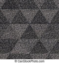 Triangle seamless pattern with noise effect (vector eps 10)
