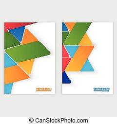 triangle, wektor, szary, projektować