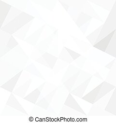 triangles., 抽象的, 白い背景, vector.