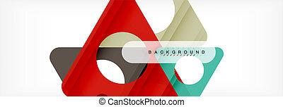 triangles., 珍しい, ビジネス, message., 色, 抽象的, 現代, カバー, 重なり合う, あなたの, 形, プレゼンテーション, 技術, バックグラウンド。, 幾何学的, app, ∥あるいは∥