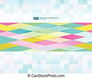 triangles., 珍しい, 旗, ポスター, カバー, 色, パターン, 抽象的, 現代, フライヤ, 重なり合っている形, message., デザイン, バックグラウンド。, brochure., 幾何学的, カード, あなたの, 葉書