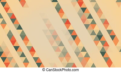 triangles abstract geometric loopable background