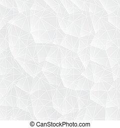 triangles., abstrakcyjny, białe tło