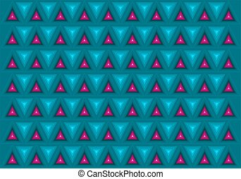 Triangles background - Dimensional background with...