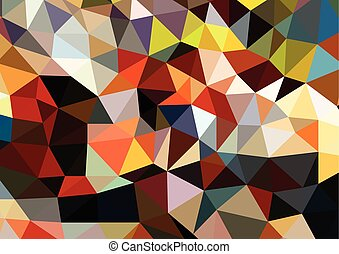 triangles background polygons,