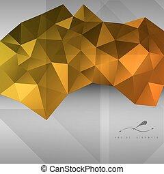 triangles Background - Triangles background. Vector design ...