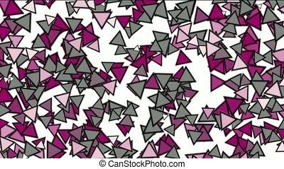 triangles block mosaics wall,game