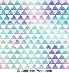 triangles., clair, seamless, modèle