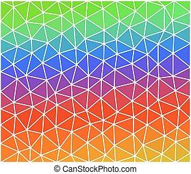 triangles., consist, ビジネス, 三角, 多色刷り, デザイン, 背景, 幾何学的, あなたの