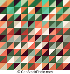 triangles, fond