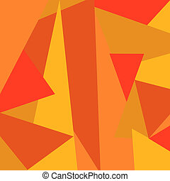 triangles, fond, résumé