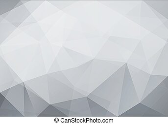 triangles., gemaakt, abstract, polygonal, achtergrond, geometrisch