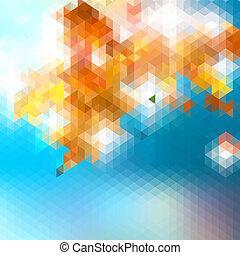 triangles., +, gjord, eps10, bakgrund
