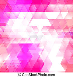 Triangles mosaic vector background