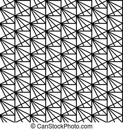 triangles., plein, moderne, pattern., seamless, texture., vector, achtergrond, modieus, geometrisch, het herhalen