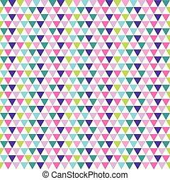 triangles, résumé, moderne, fond, coloré