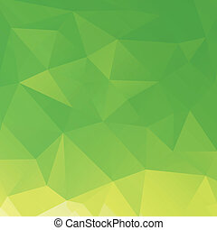 triangles, retro, fond