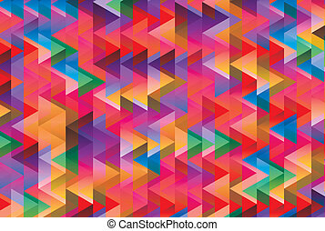 trianglesabstract textile type background