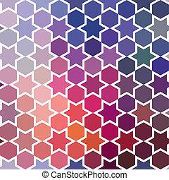 triangoli, modello, di, geometrico, shapes., colorito, mosaico, sfondo., geometrico, hipster, retro, fondo, posto, tuo, testo, su, il, cima, di, it., retro, triangolo, fondo., fondale