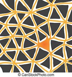triangolo, astratto, fondo