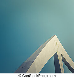 Triangular Bridge Detail