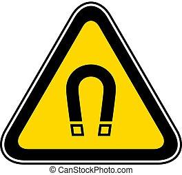 Triangular Warning Hazard Symbol