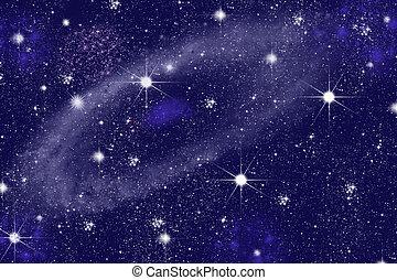 triangulum, galax