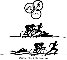 triathlon, design
