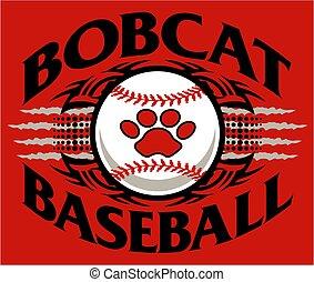 bobcat baseball - tribal bobcat baseball team design with ...