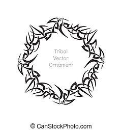 tribal creative ornament
