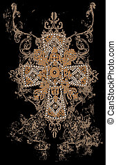 tribal cross design