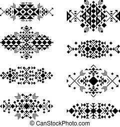 Tribal elements in ethnic style