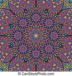 Tribal ethnic seamless pattern ornamental