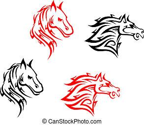 Tribal horses