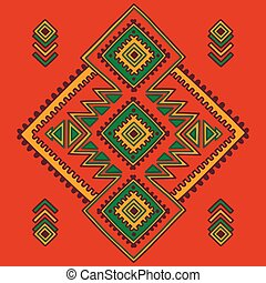Tribal line shapes. Ethnic pattern. Sacred geometry print in african, mexican, american, indian style. Ethnic and tribal motifs can be used for textile, rug, coloring book.