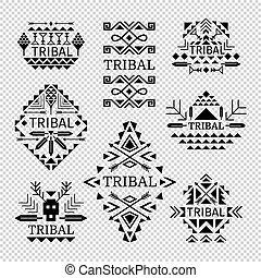 Tribal logos set