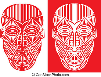 Tribal mask.