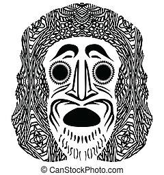 tribal mask