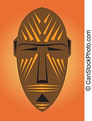 Tribal mask.