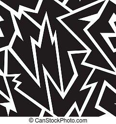 tribal monochrome seamless texture