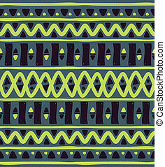 tribal motif seamless pattern