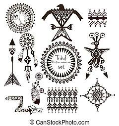 Tribal native american set