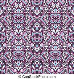 Tribal native seamless pattern