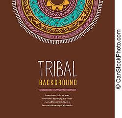 tribal, plano de fondo
